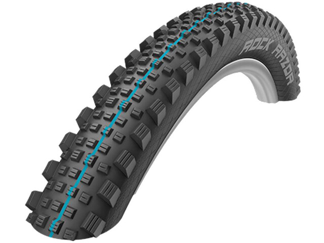 "SCHWALBE Rock Razor Super Trail Evolution Folding Tyre 27.5x2.60"" TLE E-25 Addix Speedgrip, black"